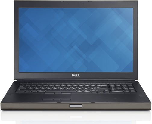 DELL Precision M6800 - 17,3 Zoll - Core i7-4800MQ @ 2,7 GHz - 8GB RAM - 256GB SSD - FHD (1920x1080) - Win10Pro