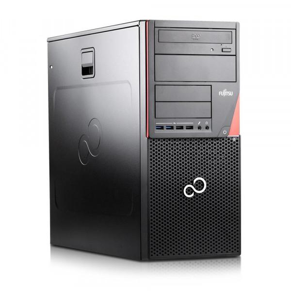 Fujitsu Esprimo D756 E85+ DT - Intel Core i5-6600 CPU @3,3GHz - 8GB RAM - 256GB SSD - Win10 pro