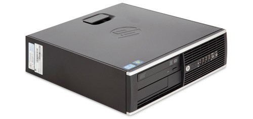HP Compaq 8200 Elite SFF - Intel Core i5-2400 @ 3,1 GHz - 8GB RAM - 500GB HDD - DVD/RW - Win10pro