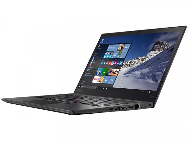 Lenovo ThinkPad T470s - 14,0 Zoll - Core i7-7500U @ 2,5 GHz - 8GB RAM - 256GB SSD - FHD (1920x1080) - Webcam - Win10Pro