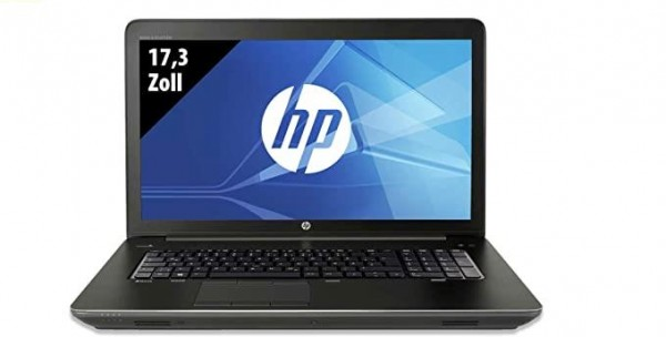 HP ZBook 17 G3 -17,3 Zoll - Core i7-6820HQ @ 2,7 GHz - 8GB RAM - 256GB SSD - Nvidia Quadro M1000M - FHD (1920x1080) - Webcam - Win10Pro