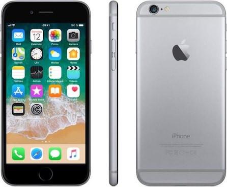 iPhone 6 - 64GB Kategorie A - (ohne Ladegerät) silber