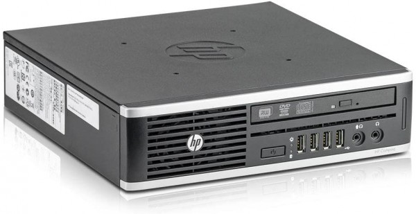HP Elite 8300 USFF - Core i5-3470S @ 2,9 GHz - 8GB RAM - 500GB HDD - DVD-R - Win10Pro