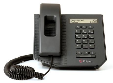 Polycom CX300 R2 - USB Desktop Phone - schwarz