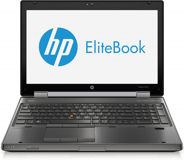 HP Elitebook 8570w - 15,6 Zoll - Core i7-3720 @ 2,6 GHz - 8GB RAM - 500GB HDD - Win10Pro
