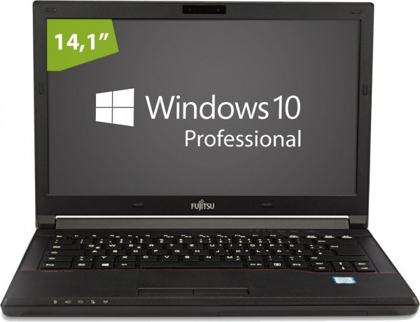 Fujitsu LifeBook E546 - 14,0 Zoll - Core i5-6300U @ 2,4 GHz - 8GB RAM - 256GB SSD - WXGA (1366x768) - Webcam - Win10Pro