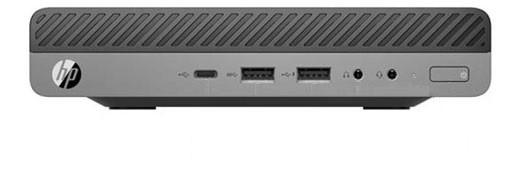 HP EliteDesk 800 G3 Mini 65W - Core i5-6500@3,2GHz - 8GB RAM - 500GB HDD - Windows 10 Pro