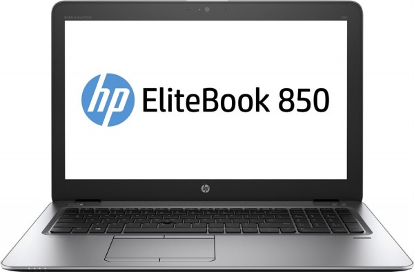 HP Elitebook 850 G3 - 15,6 Zoll - Core i7-6600U @ 2,6 GHz - 8GB RAM - 256GB SSD - FHD (1920x1080) - Win10 PRO